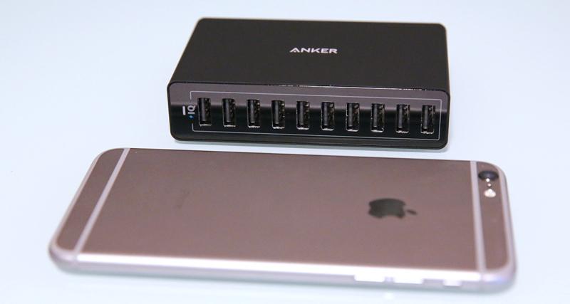 Adapter Anker 10 Cổng PowerPort 10 60W