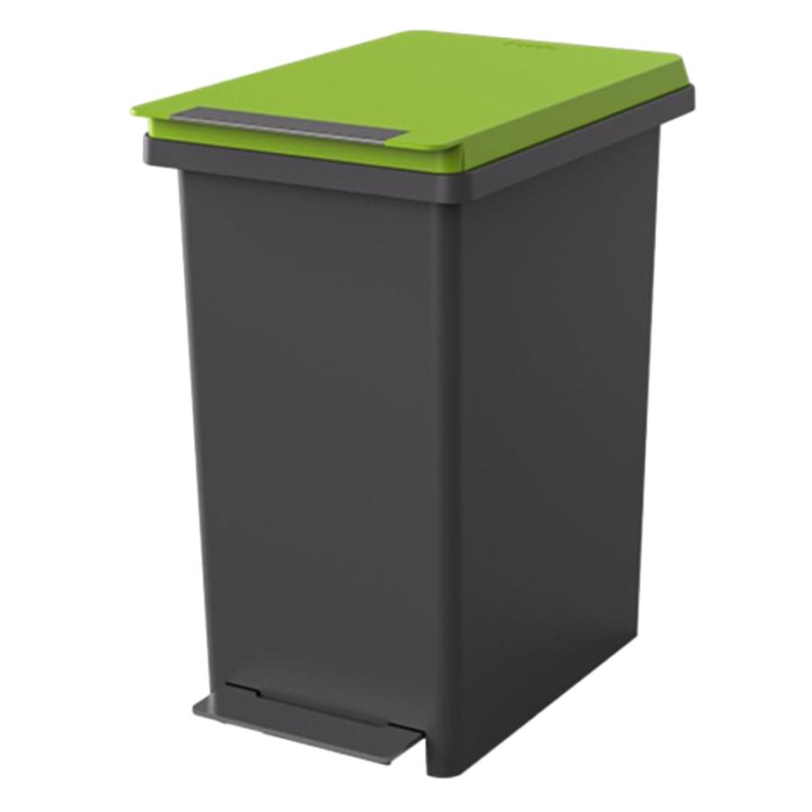 Thùng rác nhựa Fitis Compact PPS1-904 - xanh xám - 10L