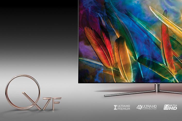 Smart TV Cong 4K Samsung QLED 55 Inch QA55Q7FAMKXXV
