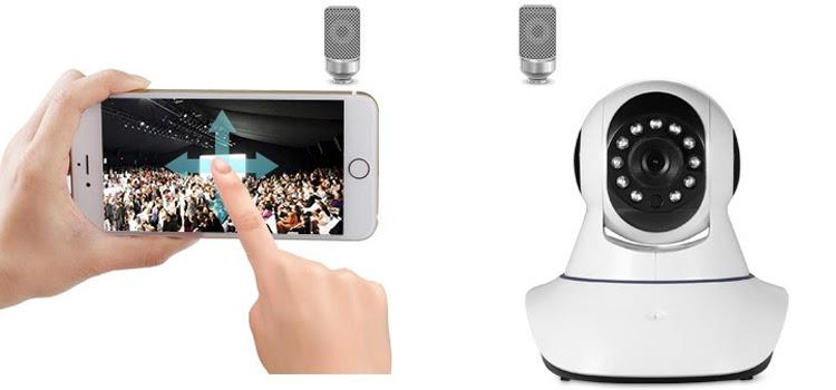 Camera IP Giám Sát Và Báo Động NetCAM R01
