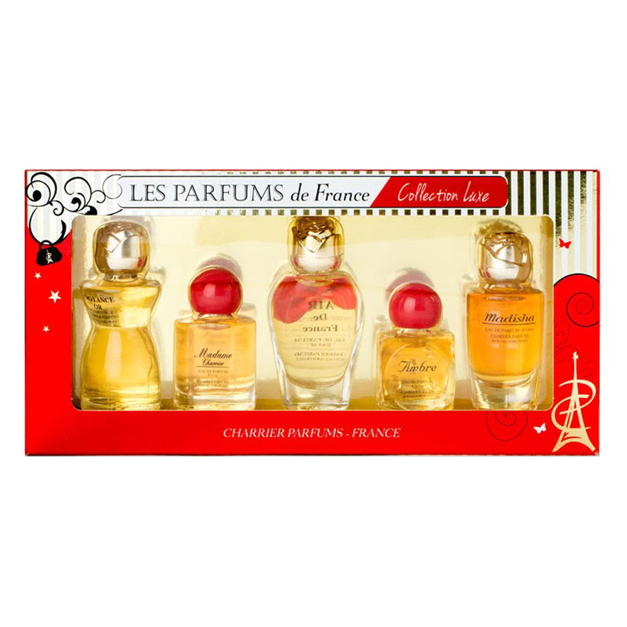 Bộ 5 Chai Nước Hoa Collection Luxe Charrier Parfums R5