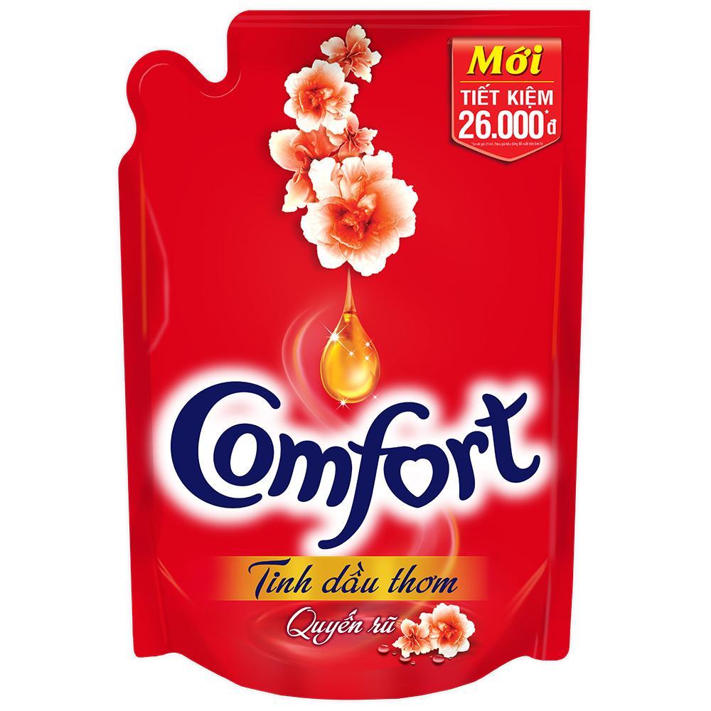 Comfort Đậm Đặc 1 Lần xả Tinh Dầu Thơm Quyến Rũ (1.6L) - 21118880