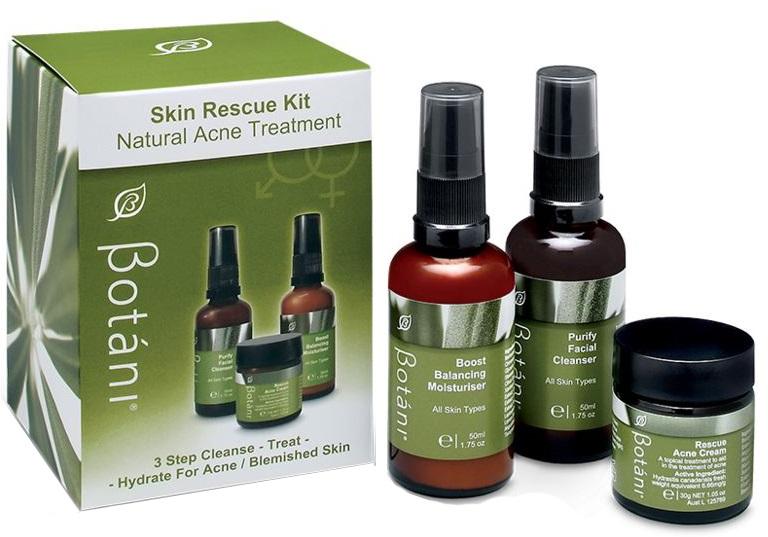 Bộ Chăm Sóc Da Mụn Botani Rescue Skin Kit BPGS102