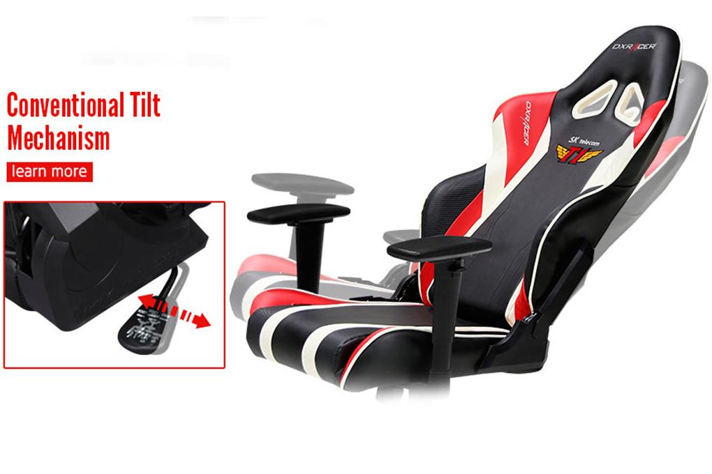 Ghế Chơi Game DXRacer Racing RF108-NR-SKT - Gaming