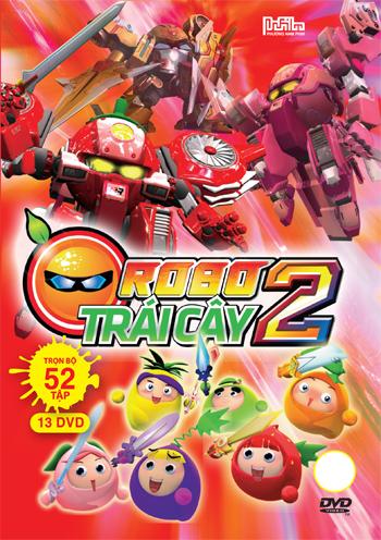 Robot Trái Cây Phần 2 - Trọn Bộ 13 Đĩa (DVD) - 8932000434450,62_97863,347000,tiki.vn,Robot-Trai-Cay-Phan-2-Tron-Bo-13-Dia-DVD-62_97863,Robot Trái Cây Phần 2 - Trọn Bộ 13 Đĩa (DVD)