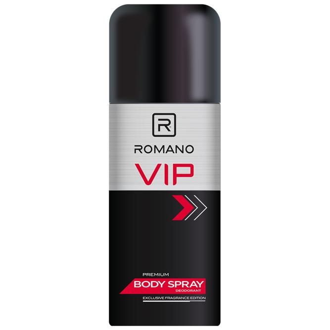 Xịt Khử Mùi Toàn Thân Cho Nam Romano VIP  (150ml)