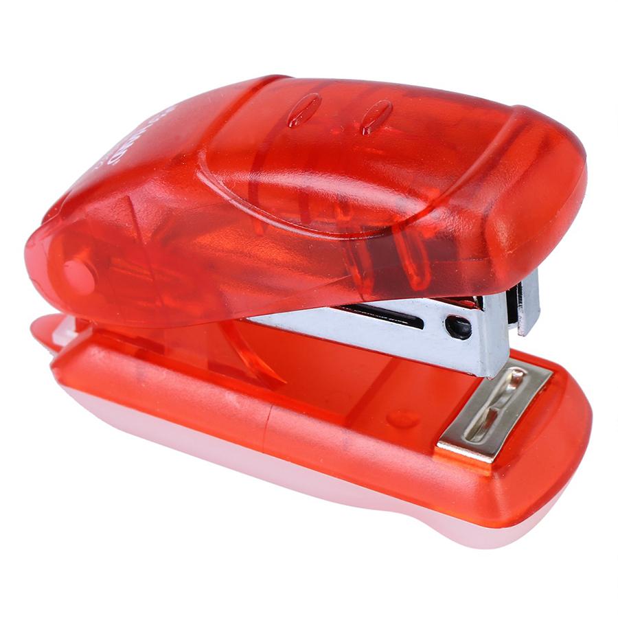 Combo 2 Dập Ghim Mini Thân Nhựa Trong Hand S - 922
