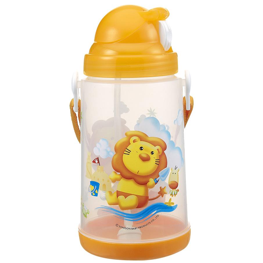 Bình Tập Uống Simba Nắp Bật Tự Động S9937 (650ml)