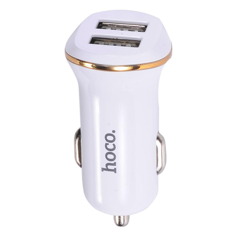 Sạc Xe Hơi Hoco Z1 2 Cổng USB - Hàng Nhập Khẩu