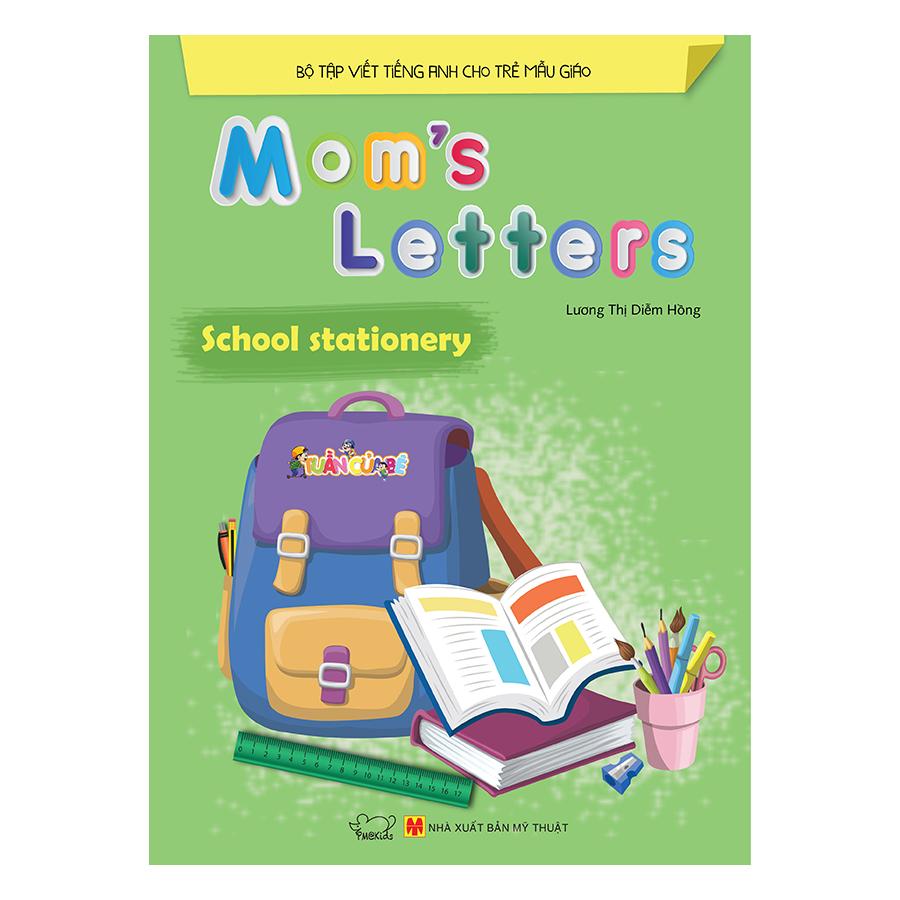 Combo trọn bộ 8 cuốn Mom's Letters
