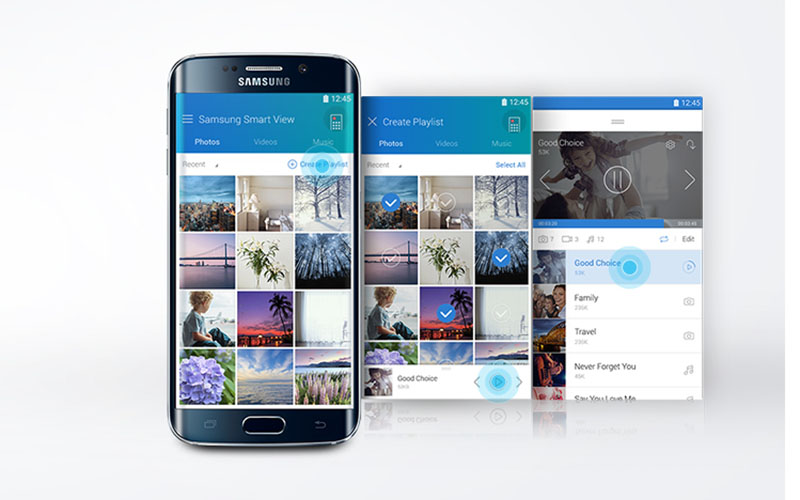Smart Tivi Cong Samsung UA49KU6500 49 inch