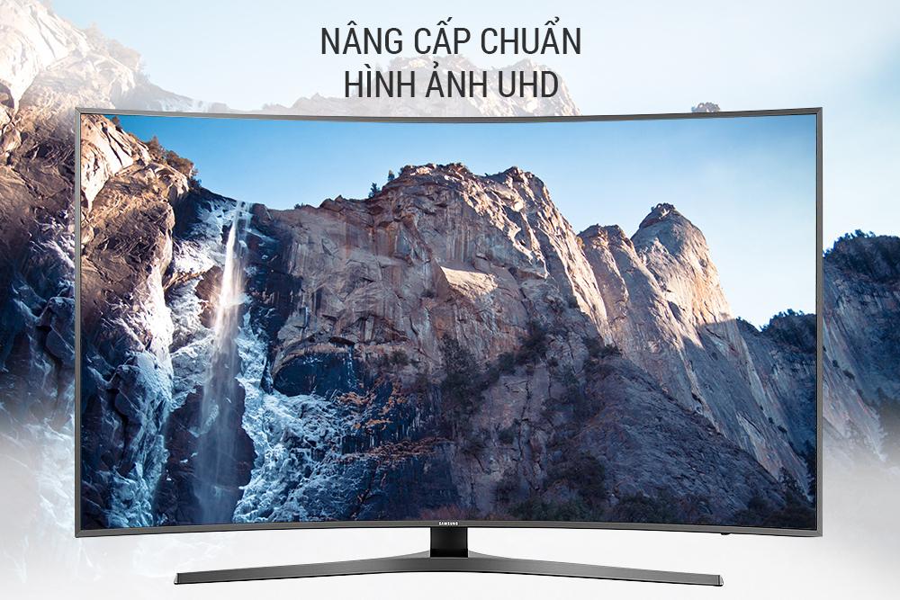 Smart Tivi Màn Hình Cong Samsung 49 inch UA49MU6500KXXV