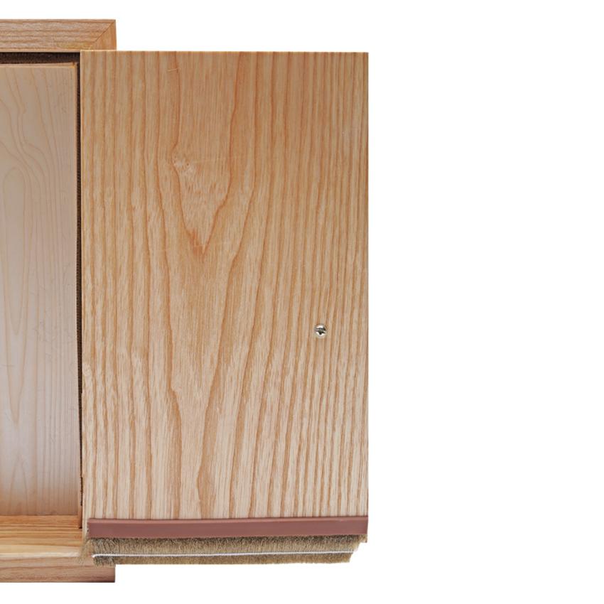 Miếng Dán Chân Cửa Đa Năng Sealboy Door - Foot SB250X2 GO Màu Nâu - 2.0M