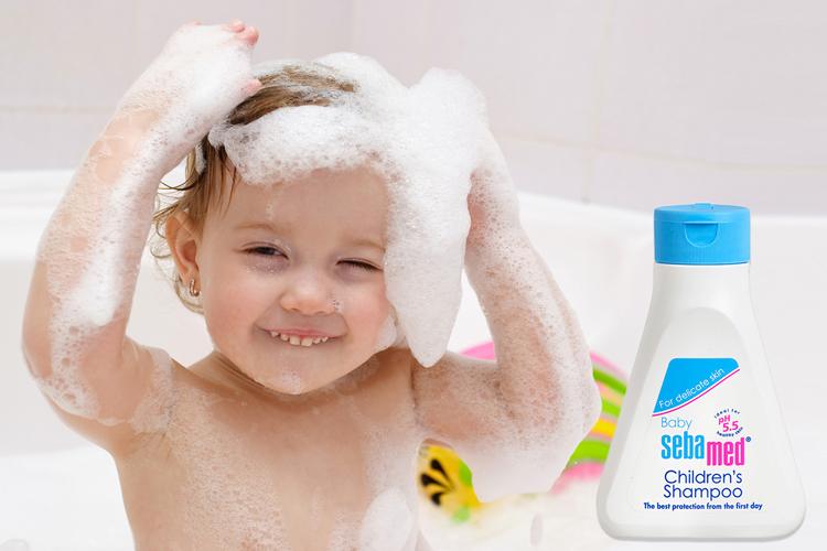 Dầu Gội Trẻ Em Dịu Nhẹ Không Cay Mắt Baby Sebamed Children's Shampoo SBB02B (250ml)