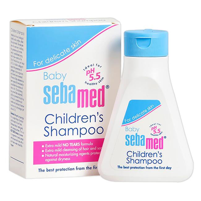 Dầu Gội Trẻ Em Dịu Nhẹ Không Cay Mắt Baby Sebamed Children's Shampoo SBB02C (150ml)