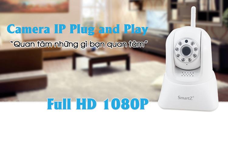 Camera IP SmartZ SCX1001 - Trắng