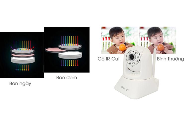 Camera IP SmartZ SCX2002 Full HD 2.0MP - Trắng