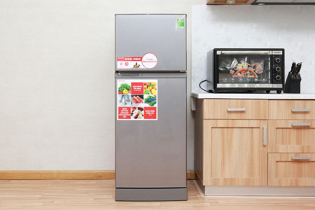 Tủ Lạnh Sharp SJ-218P-ST DHCFC DL020068