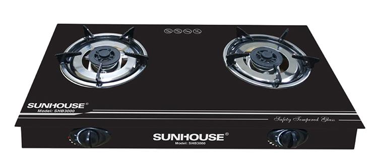 Bếp Gas Dương Đôi Sunhouse SHB3000 - Đen