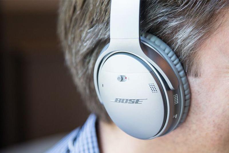 Tai Nghe Bluetooth Bose QuietComfort 35 II Wireless Noise Cancelling - Hàng Chính Hãng