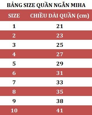 Combo 5 Quần Thể Thao Cho Bé MihaBaby QN04 - Trắng