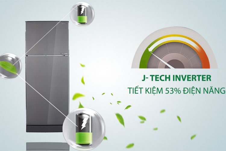 Tủ Lạnh Inverter Sharp SJ-X201E-DS (182L) - Hàng chính hãng = 4.148.000đ