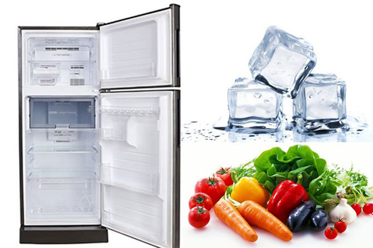 Tủ Lạnh Inverter Sharp SJ-X201E-SL (196L)