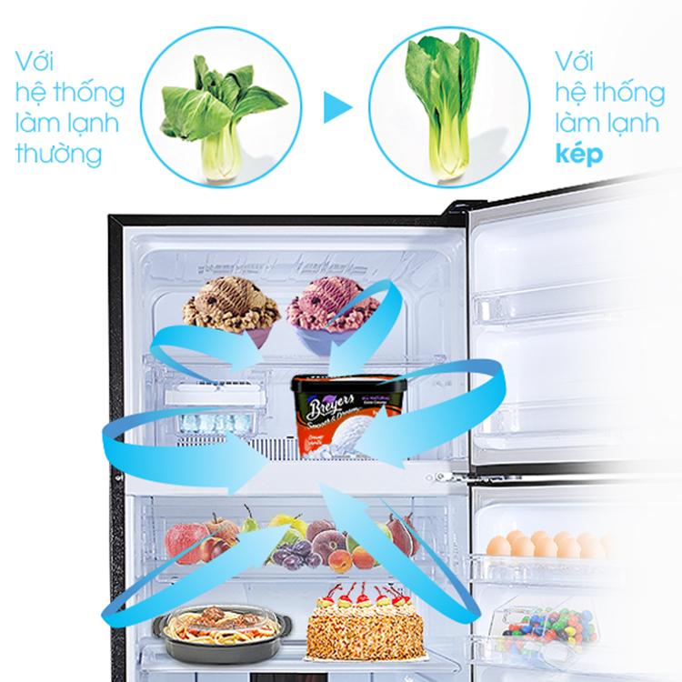 Tủ Lạnh Sharp SJ-XP400PG-BK (397L)