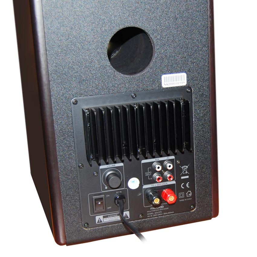 Loa Vi Tính Microlab Solo 7C 2.0 (110W) - Hàng Chính Hãng