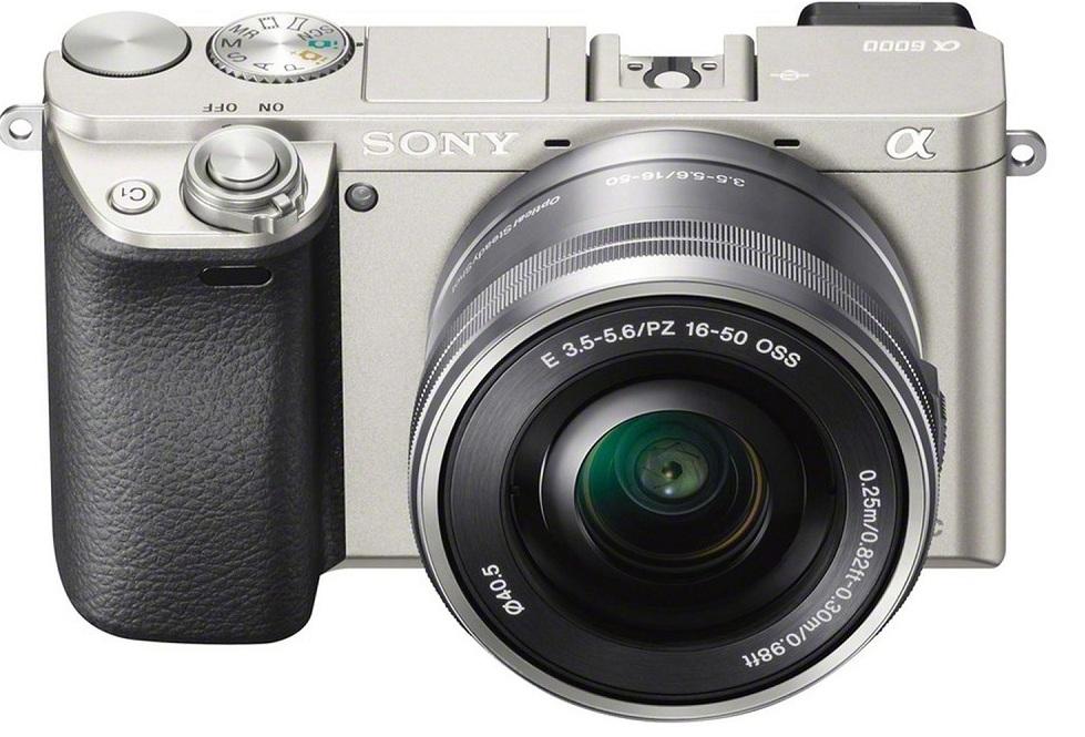 Máy Ảnh Sony Alpha A6000 + 16-50mm - Bạc  = 12.490.000 ₫