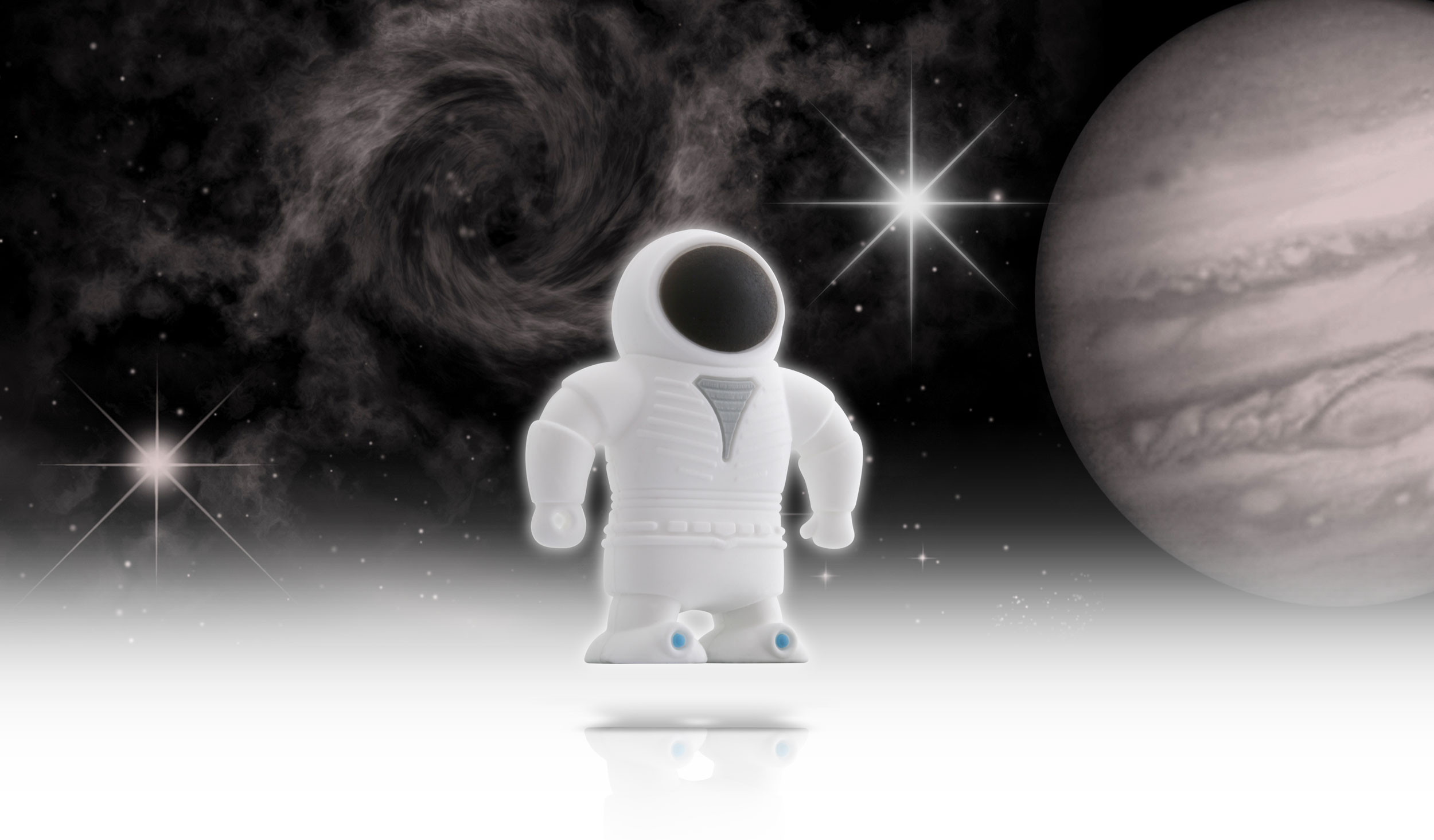 USB Bone 8GB Spaceman - USB 2.0