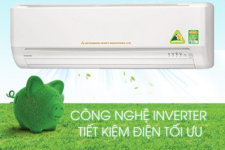 Máy Lạnh Mitsubishi Heavy Inverter SRK10YL-S5 (1 HP) - Trắng - Hàng Chính Hãng