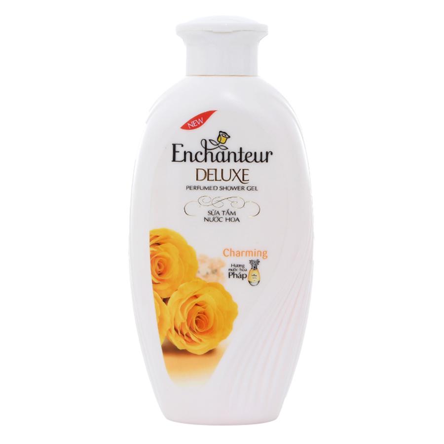 Combo 2 Hộp Quà Enchanteur Charming Dầu Gội (180g) + Sữa Tắm (180g)