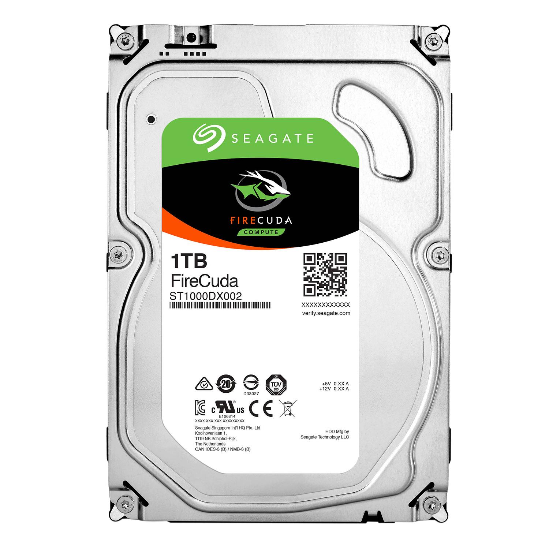 Ổ Cứng HDD Seagate FireCuda 1TB/8GB/3.5 - ST1000DX002 - Hàng chính hãng