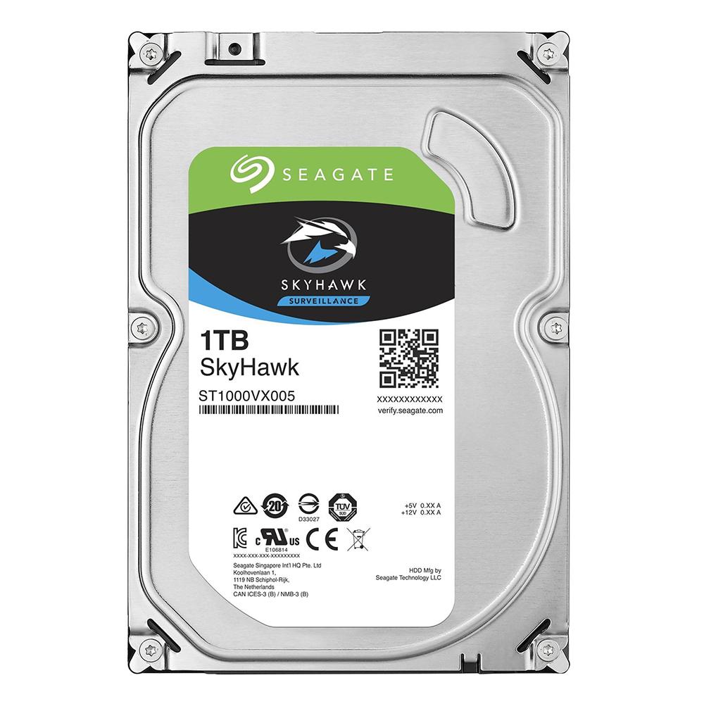 Ổ Cứng HDD Video Seagate SkyHawk 1TB/64MB/3.5 - ST1000VX005 - Hàng chính hãng