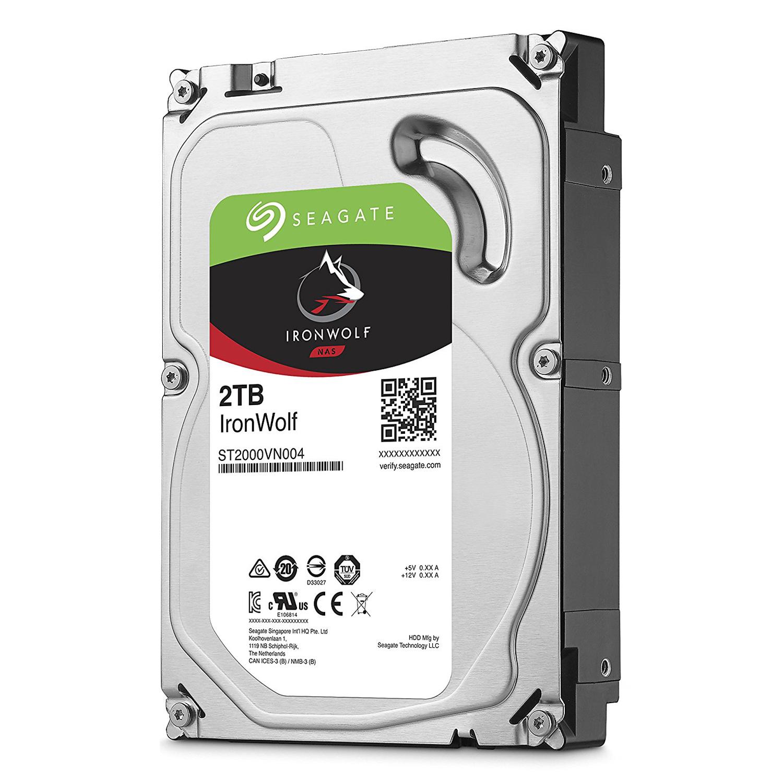 Ổ Cứng HDD Seagate IronWolf 2TB/64MB/3.5 - ST2000VN004 - Hàng chính hãng