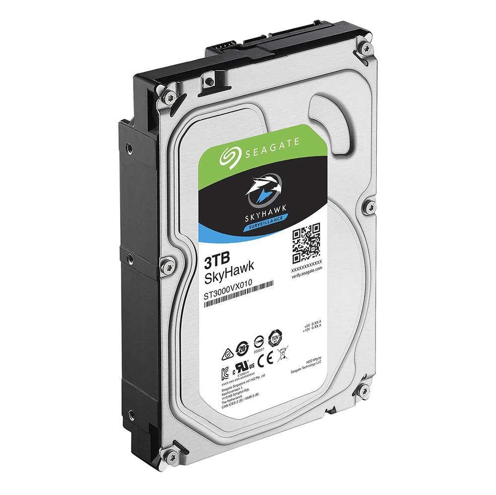 Ổ Cứng HDD Video Seagate SkyHawk 3TB/64MB/3.5 - ST3000VX010 - Hàng chính hãng
