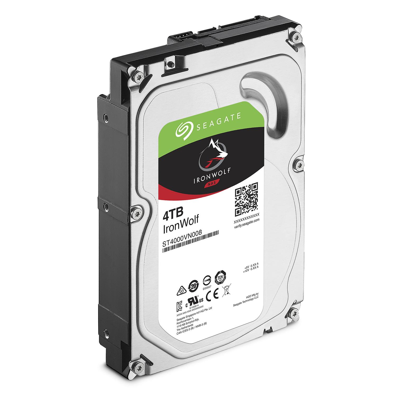 Ổ Cứng HDD Seagate IronWolf 4TB/64MB/3.5 - ST4000VN008 - Hàng Chính Hãng