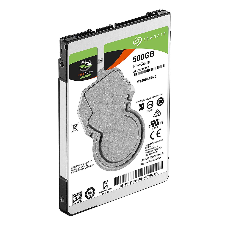 Ổ Cứng HDD Seagate FireCuda 500GB/2.5 - ST500LX025 - Hàng chính hãng