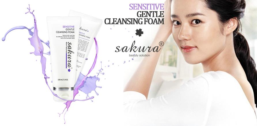 Sữa Rửa Mặt Cho Da Nhạy Cảm Sensitive Gentle Cleansing Foam (100ml)