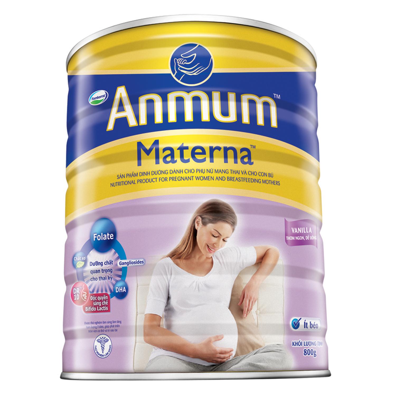 Sữa Bột Dành Cho Mẹ Bầu Anmum Materna Hương Vanilla 800g