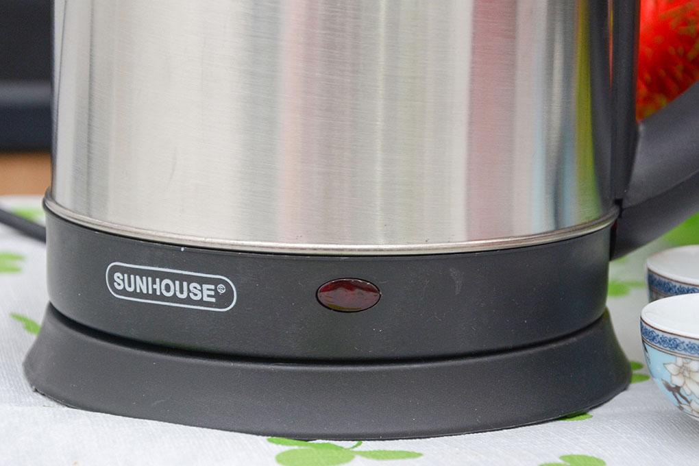 Ấm Siêu Tốc Inox Sunhouse SHD1182- Hàng chính hãng