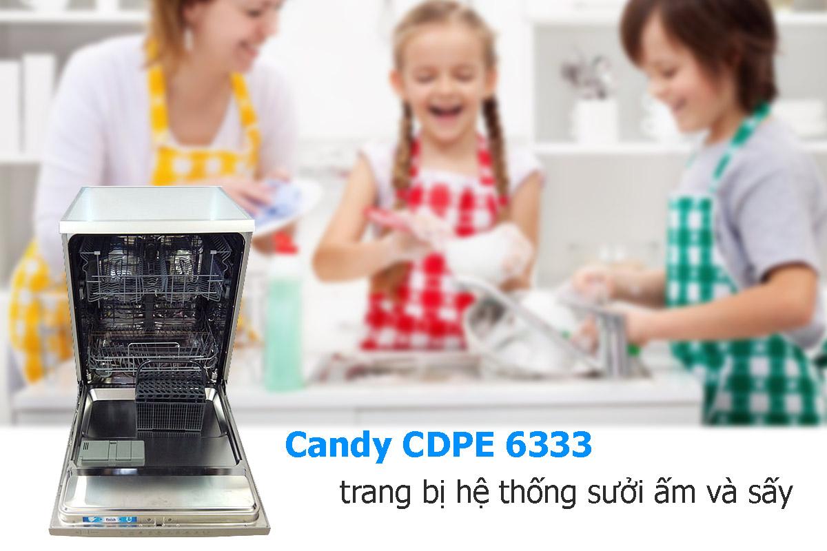 Máy Rửa Chén Candy CDPE 6333