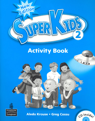 Superkids NE Activity Book 2 with CD