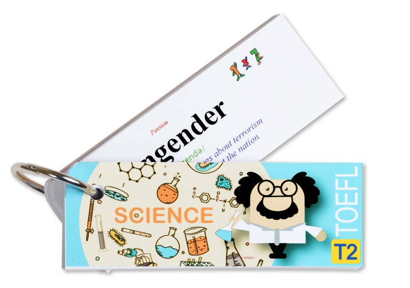 Flashcard Science Best Quality (T2)