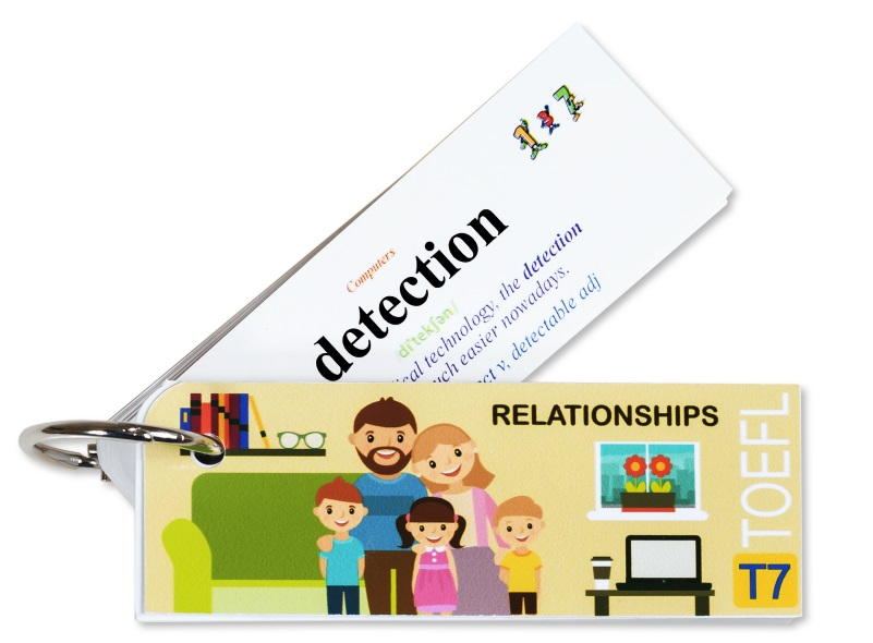 Flashcard Relationships Best Quality (T7)