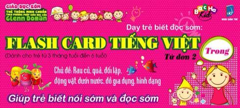 Flash Card Tiếng Việt 2 - Từ Đơn