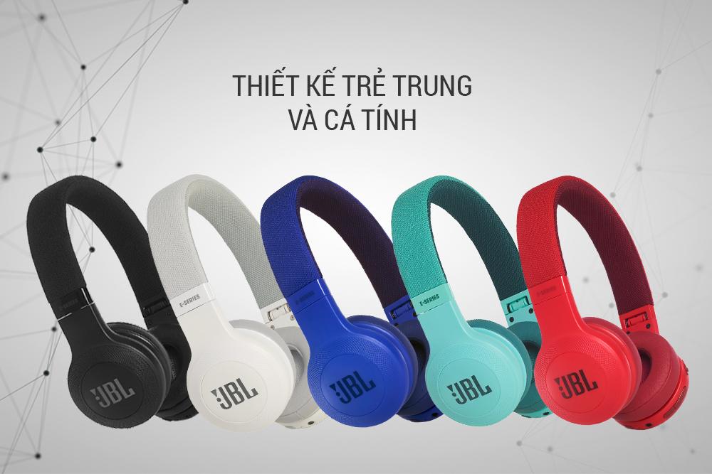 Tai Nghe Bluetooth JBL E45BT - Hàng Chính Hãng