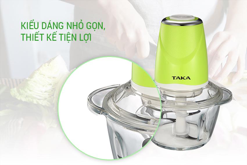 Máy Xay Thịt 2 Lưỡi Kép Taka TKE568 (1.2L)