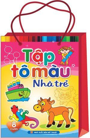 Tô Màu Nhà Trẻ (Túi 8 cuốn)